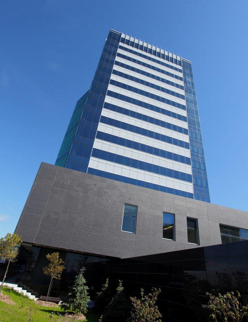 Desjardins Sécurité Financière, bâtiment LEED