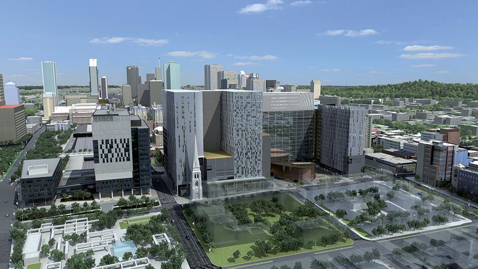 Complexe Hospitalier de l'Université de Montréal