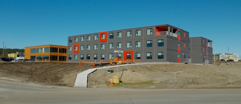 Complexe résidentiel pour ArcelorMittal – Construction