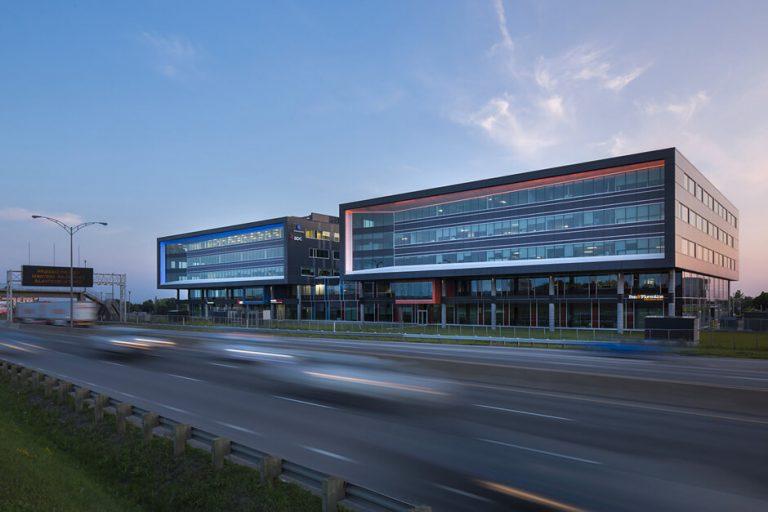 Centre d'affaires Henri-IV – Construction