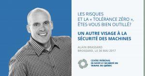 Alain Brassard – Conférencier au colloque du CPSST