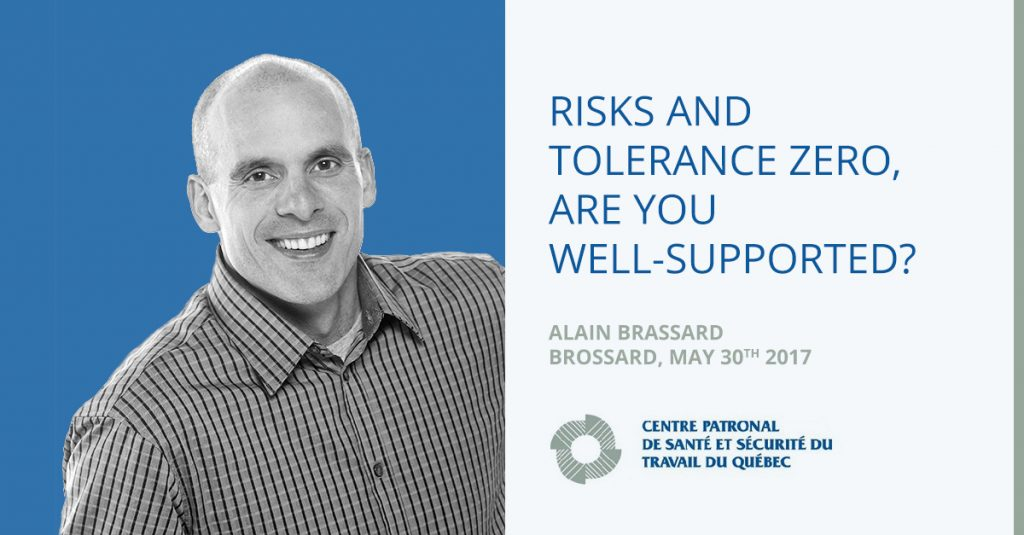 Risks and Tolerance Zero, Are You Well-Supported?