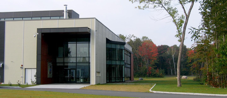 Laboratoires lourds pour l'INRS – Construction
