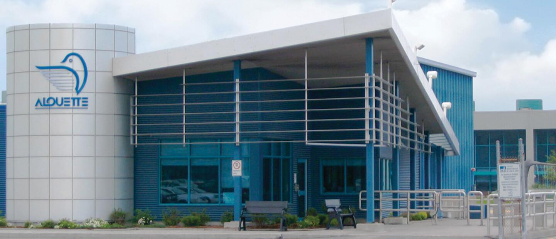 Agrandissement du bâtiment administratif et nouveau poste de garde