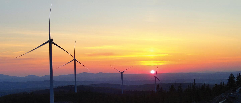Parc éolien de Saint-Robert-Bellarmin – Construction