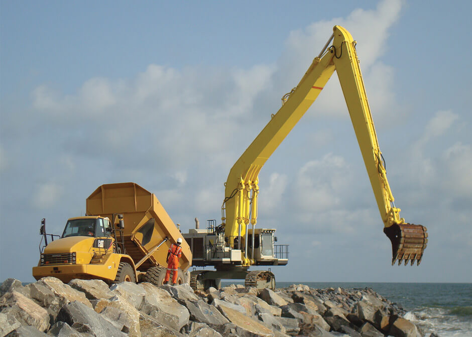 Protection côtière à Cotonou
