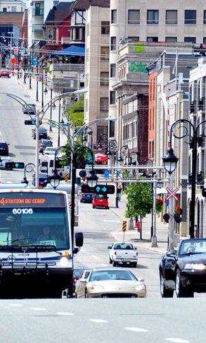 Transport - Ville de Sherbrooke