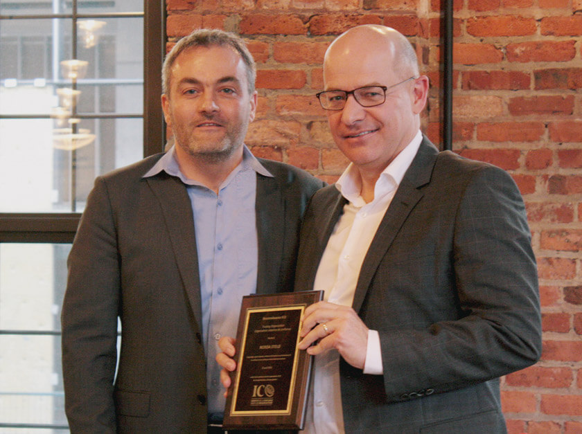Norda Stelo reçoit un prix Reconnaissance ICO
